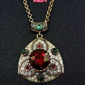 BETSEY JOHNSON ~  Royal Pendant Necklace